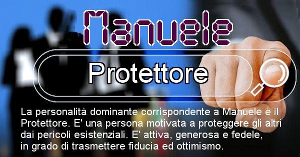 Manuele - Personalità associata al Nome Manuele