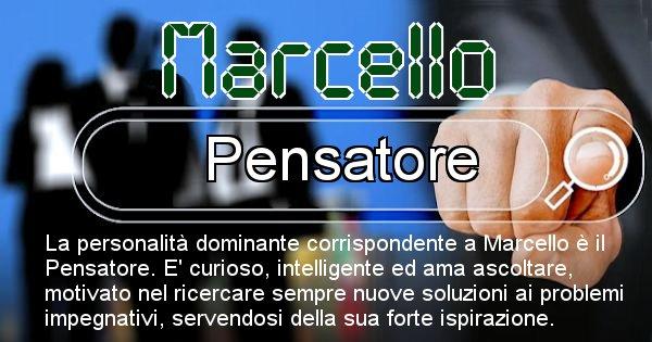 Marcello - Personalità associata al Nome Marcello
