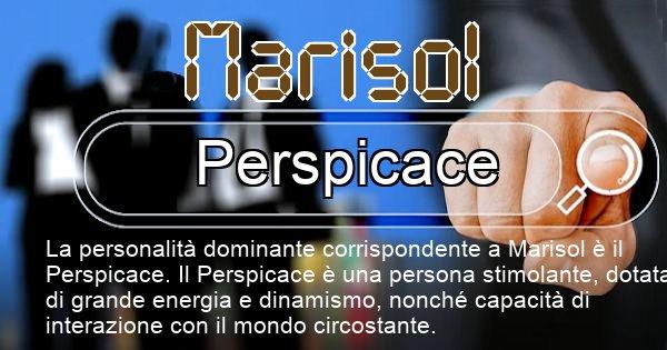Marisol - Personalità associata al Nome Marisol
