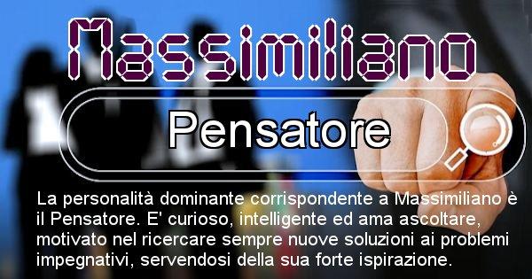 Massimiliano - Personalità associata al Nome Massimiliano