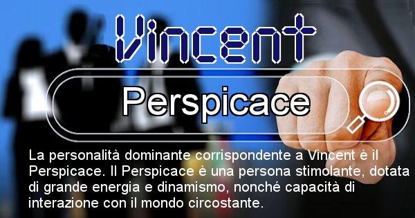 Vincent - Personalità associata al Nome Vincent