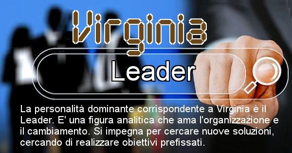 Virginia - Personalità associata al Nome Virginia