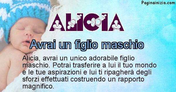 Alicia - Quanti figli avrai Alicia