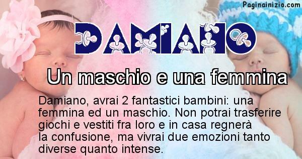 Damiano - Quanti figli avrà Damiano
