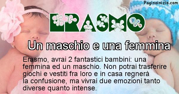 Erasmo - Quanti figli avrai Erasmo