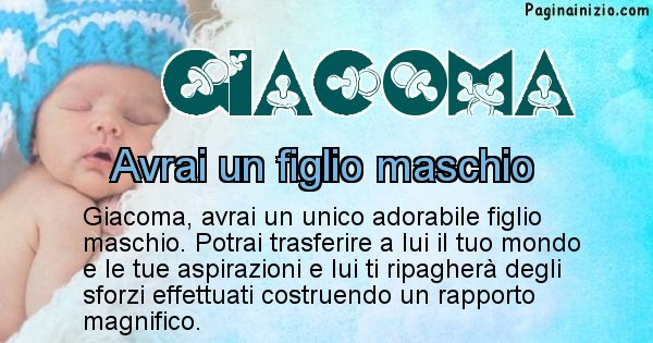 Giacoma - Quanti figli avrai Giacoma
