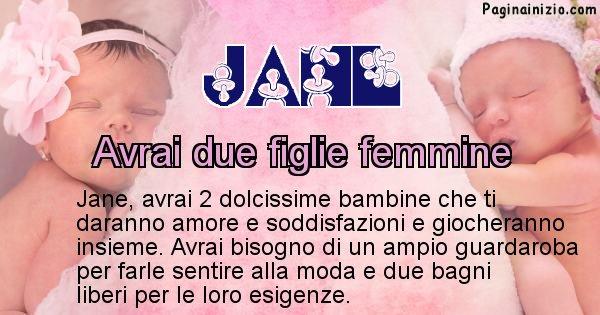 Jane - Quanti figli avrai Jane