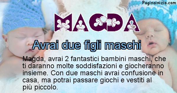 Magda - Quanti figli avrai Magda