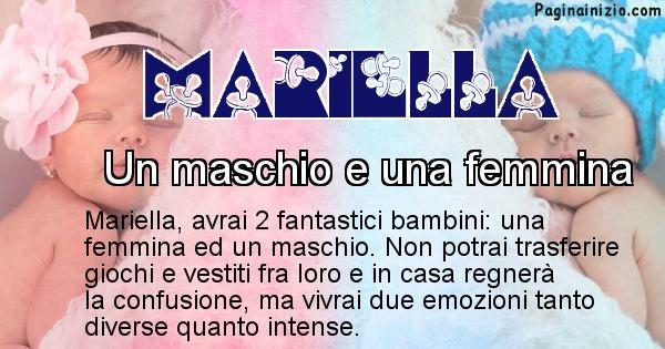 Mariella - Quanti figli avrai Mariella