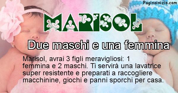 Marisol - Quanti figli avrai Marisol
