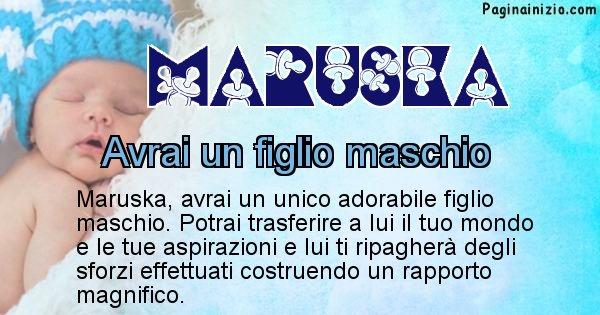 Maruska - Quanti figli avrai Maruska