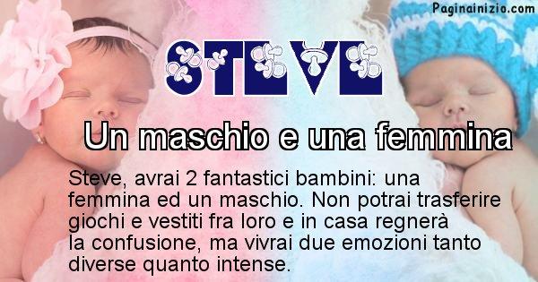 Steve - Quanti figli avrai Steve