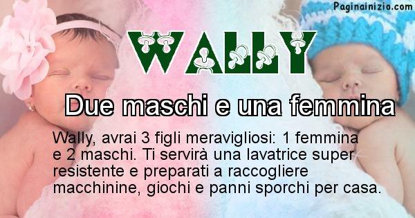 Wally - Quanti figli avrai Wally