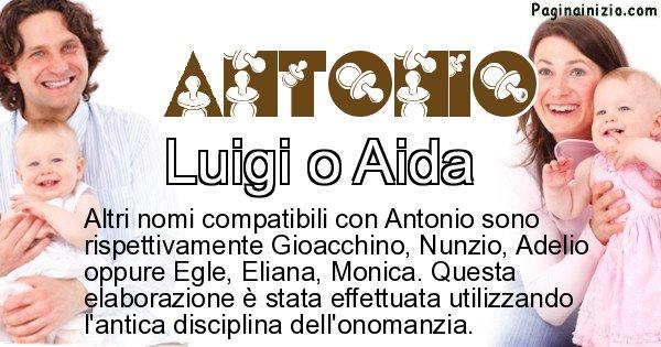 Antonio - Nome ideale per il figlio di Antonio