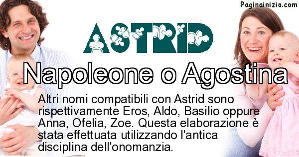 Astrid - Nome ideale per il figlio di Astrid
