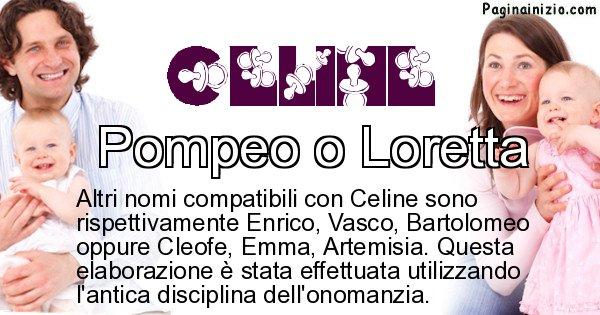 Celine - Nome ideale per il figlio di Celine