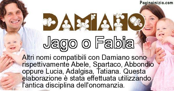 Damiano - Nome ideale per il figlio di Damiano
