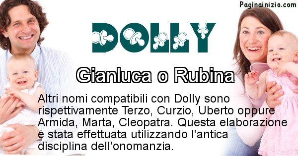 Dolly - Nome ideale per il figlio di Dolly