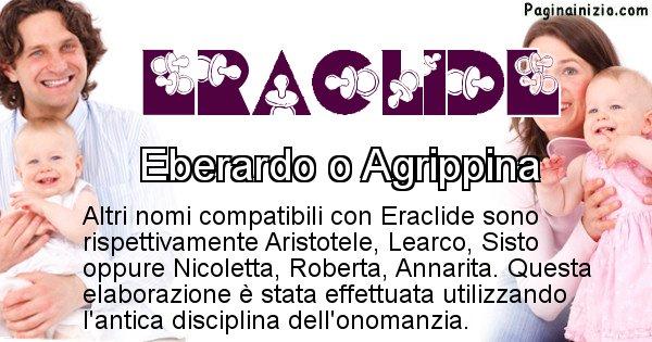 Eraclide - Nome ideale per il figlio di Eraclide
