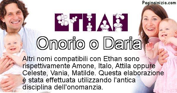 Ethan - Nome ideale per il figlio di Ethan