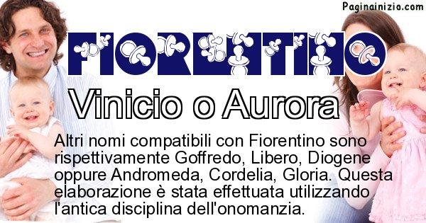 Fiorentino - Nome ideale per il figlio di Fiorentino