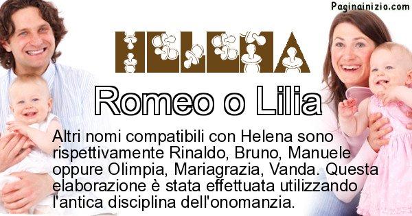Helena - Nome ideale per il figlio di Helena
