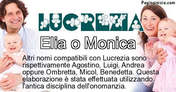 Lucrezia - Nome ideale per il figlio di Lucrezia