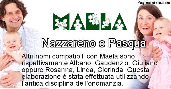 Maela - Nome ideale per il figlio di Maela