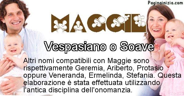 Maggie - Nome ideale per il figlio di Maggie