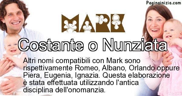 Mark - Nome ideale per il figlio di Mark
