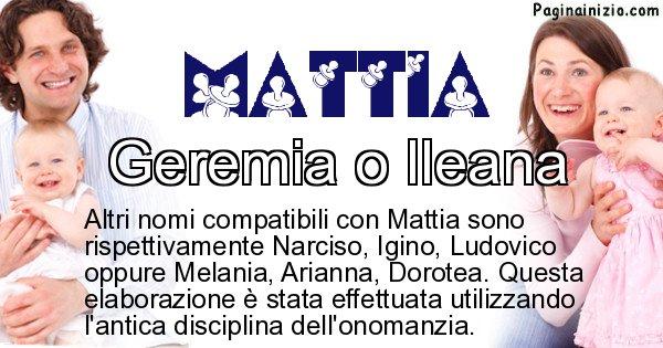 Mattia - Nome ideale per il figlio di Mattia