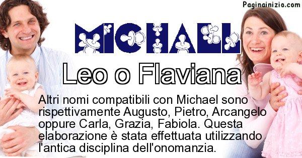 Michael - Nome ideale per il figlio di Michael