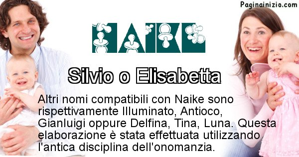Naike - Nome ideale per il figlio di Naike