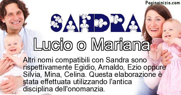 Sandra - Nome ideale per il figlio di Sandra