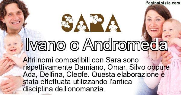 Sara - Nome ideale per il figlio di Sara