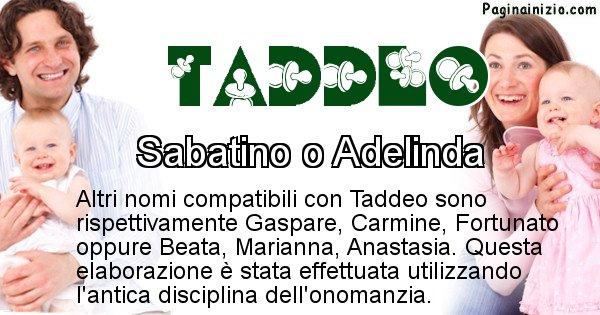 Taddeo - Nome ideale per il figlio di Taddeo