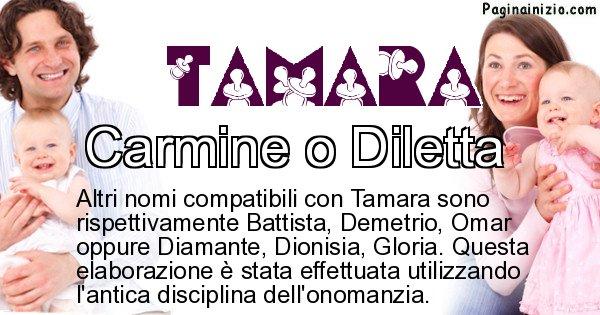 Tamara - Nome ideale per il figlio di Tamara
