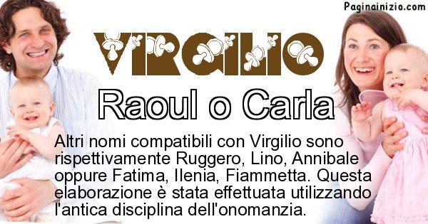 Virgilio - Nome ideale per il figlio di Virgilio