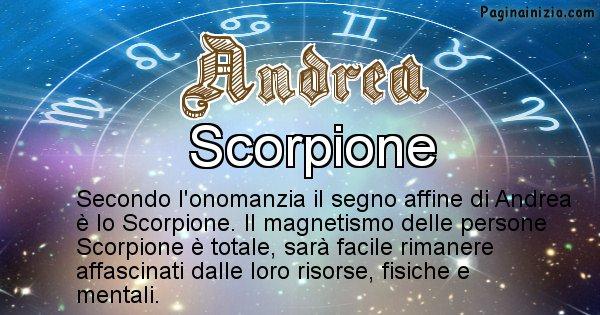 Andrea - Segno zodiacale affine al nome Andrea