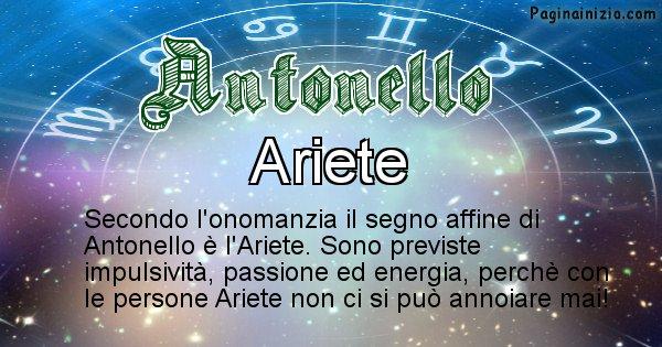 Antonello - Segno zodiacale affine al nome Antonello