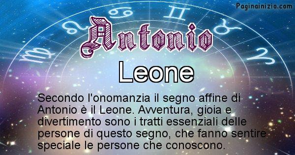 Antonio - Segno zodiacale affine al nome Antonio