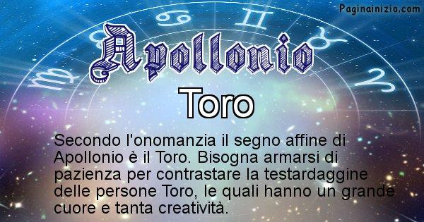 Apollonio - Segno zodiacale affine al nome Apollonio