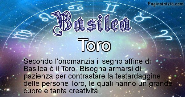 Basilea - Segno zodiacale affine al nome Basilea