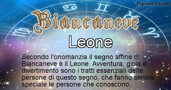 Biancaneve - Segno zodiacale affine al nome Biancaneve