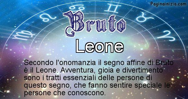 Bruto - Segno zodiacale affine al nome Bruto