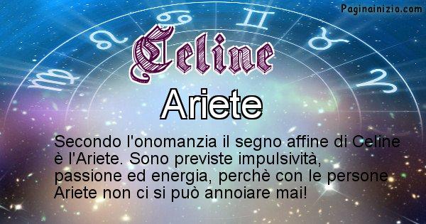 Celine - Segno zodiacale affine al nome Celine