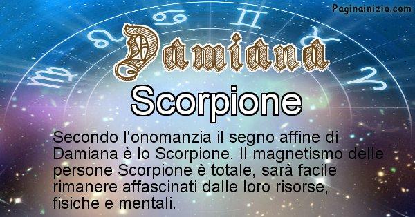 Damiana - Segno zodiacale affine al nome Damiana