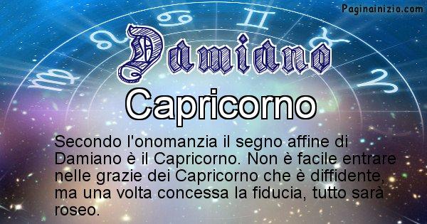 Damiano - Segno zodiacale affine al nome Damiano