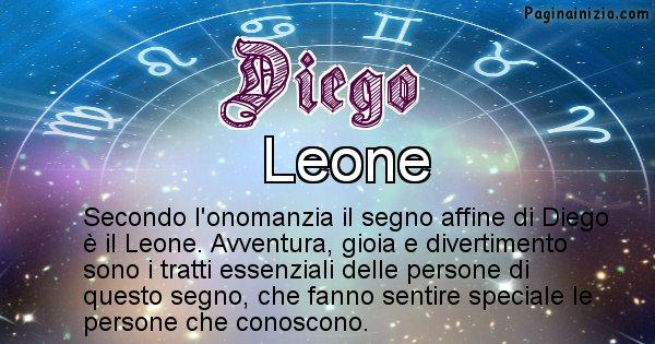 Diego - Segno zodiacale affine al nome Diego