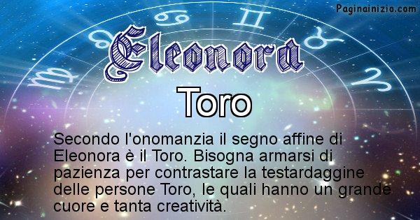 Eleonora - Segno zodiacale affine al nome Eleonora